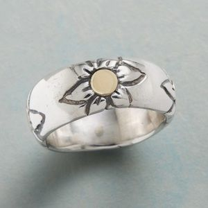 Sundance Flower Foursome Ring w/ 14kt gold